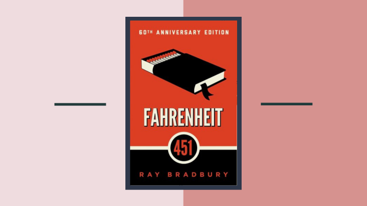 What if Books are Forbidden?: Fahrenheit 451 by Ray Bradbury BookReview