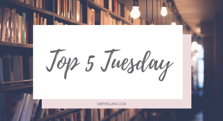 Top 5 Tuesday: Top 5 books I will definitely read thisyear